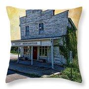 Farley Mercantile Throw Pillow