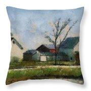 Farm 03 Photo Art Throw Pillow