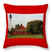 Farm-3582 Throw Pillow