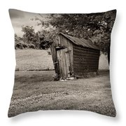 Farm Barn Chicken Coup Black And White Photograph By