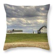 Farm Country Throw Pillow