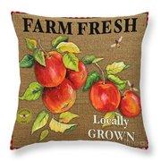 Farm Fresh-jp2380 Throw Pillow