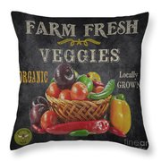 Farm Fresh-jp2637 Throw Pillow