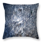 Farm In The Woods On A Hill Throw Pillow