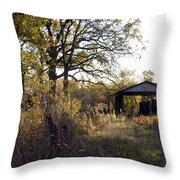 Farm Journal - Metal Storage Throw Pillow