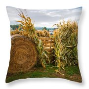 Farm Life1 Throw Pillow
