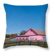 Farm Like A Girl Throw Pillow
