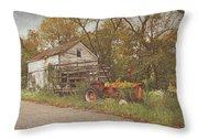 Farm Still Life Throw Pillow