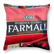 Farmall F-14 Tractor I Throw Pillow