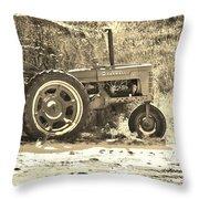 Farmers Friend Throw Pillow