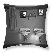 Farmhouse Washroom, 1936 Throw Pillow