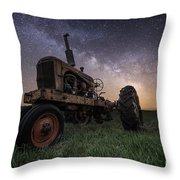 Farming The Rift 4 Throw Pillow