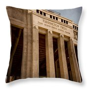 Farrington Field Facade Throw Pillow