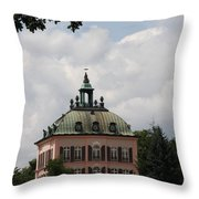Fasanen Schloesschen Germany    Pheasant Palace  Throw Pillow