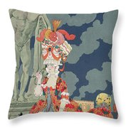 Fashion At Its Highest Throw Pillow