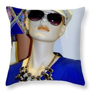 Fashion Cap Throw Pillow