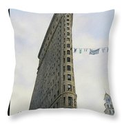 Fashion District Throw Pillow