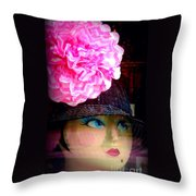 Fashion Goddess  Throw Pillow