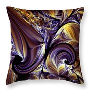 Fashion Statement Abstract Throw Pillow