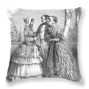 Fashion Women's, 1847 Throw Pillow