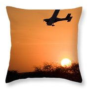 Fast And Low Throw Pillow
