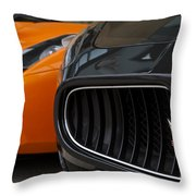 Fast Company Throw Pillow