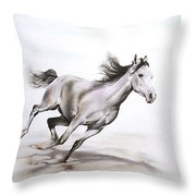 Fast In The Spirit Throw Pillow by Tamer and Cindy Elsharouni