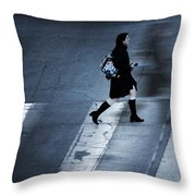 Fast It Went  Throw Pillow