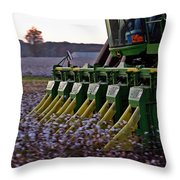 Fast Picker Throw Pillow
