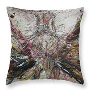 Fast Ride Throw Pillow