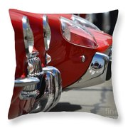 Fast Sports Cars Throw Pillow