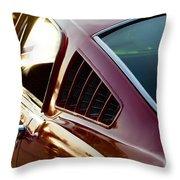 Fastback Throw Pillow