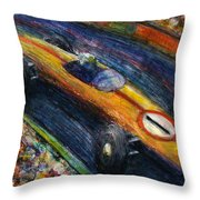 Fastcar Throw Pillow