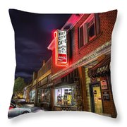 Fat City Cafe Throw Pillow