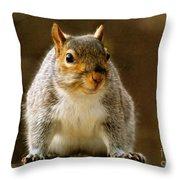 Fat 'n Sassy Smile Throw Pillow