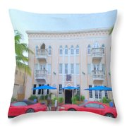 Fat Tuesdays Throw Pillow