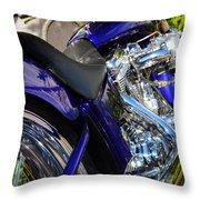 Fatboy Chrome Throw Pillow
