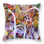 Fates Throw Pillow