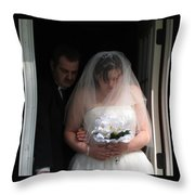 Father Daughter Thoughts Throw Pillow