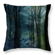 Father Frost Is Coming Throw Pillow