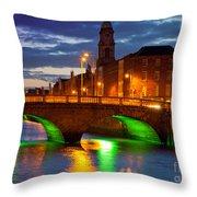 Father Matthew Bridge Throw Pillow