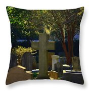 Father Son And Holy Spirit Throw Pillow