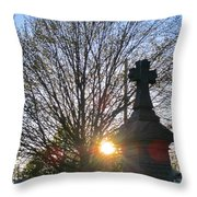 Father Son And The Holy Spirit Throw Pillow