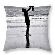 Fatherhood Throw Pillow