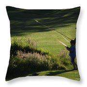 Father's Day Throw Pillow