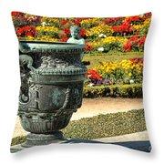 Fauns In Versailles Throw Pillow