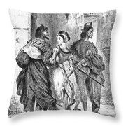 Faust: Mephistopheles 1828 Throw Pillow