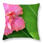Favorite Flower 2 Throw Pillow