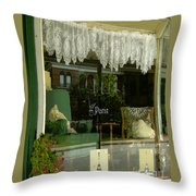 Faye's Place Throw Pillow