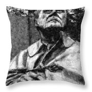 Fdr - 3164 Graphic Drawing 2 Hp Throw Pillow